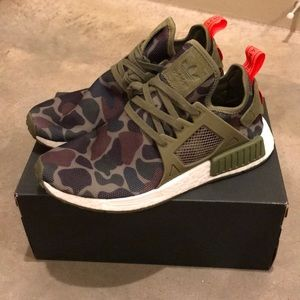 Adidas NMD XR1 - Olive Duck Camo - Mens size 9